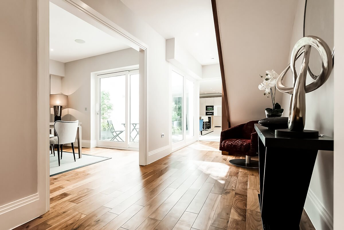 residential interior design for a town house in battersea, London