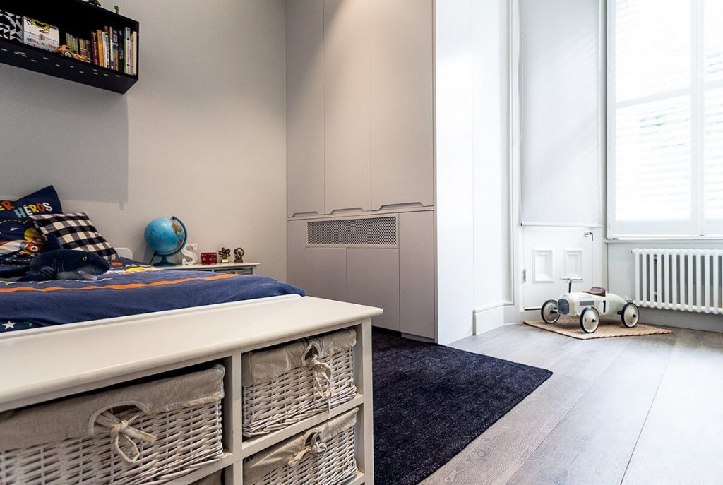 residential interior design for kids bedroom in Hampstead London