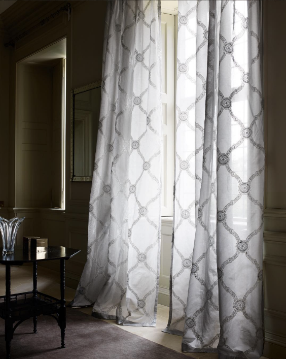 Sheer fabrics By Clefax and Fowler, London