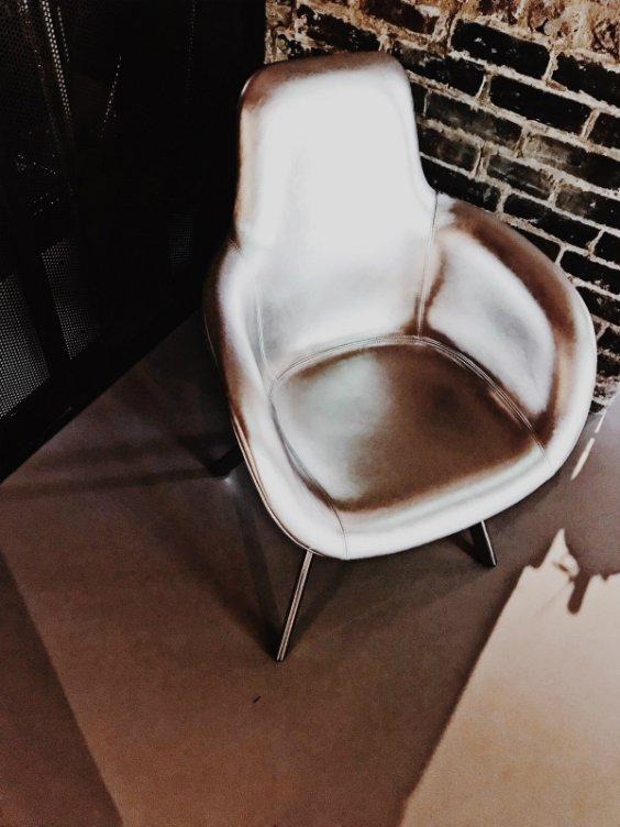 armchair designed by Tom Dixon, London