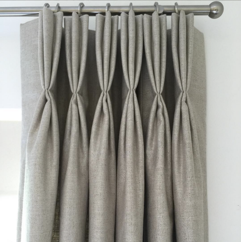 beautiful grey curtains by Harper Collection