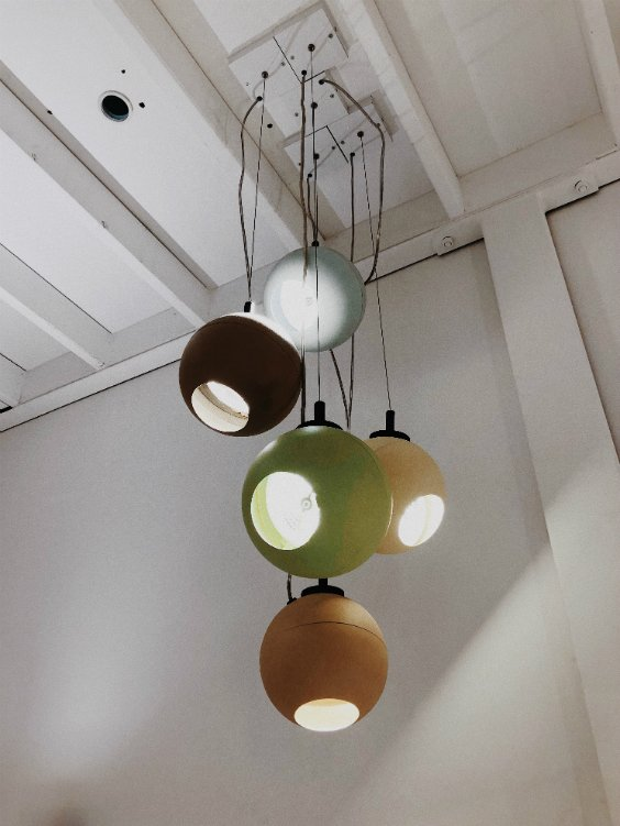 contemporary lighting designed by Dark lighting brand from Belgium