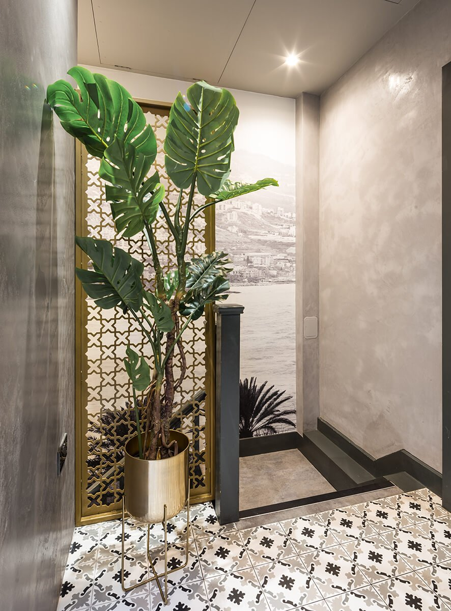 commercial interior design and fit out for resturant in Kensington, london