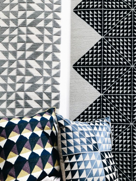geometry patterns in textile