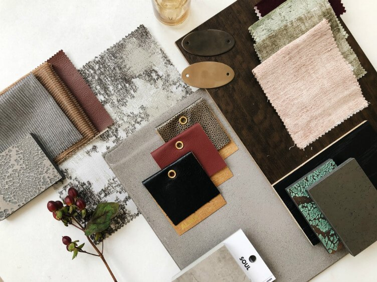 mood board created by TEMZA design and build studio