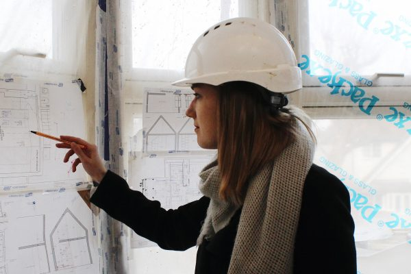 temza construction team - site visit