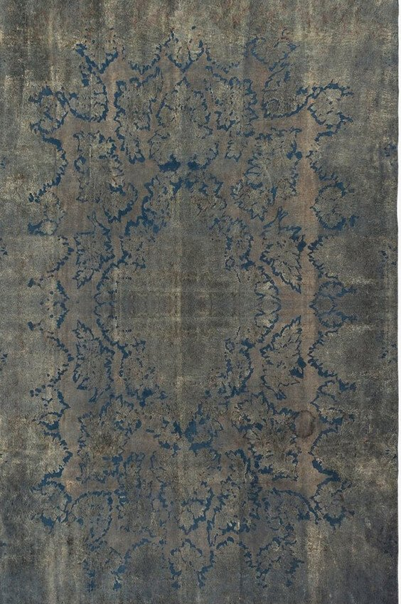 Xena Persian Overdyed Cut Out, Lilla rugs