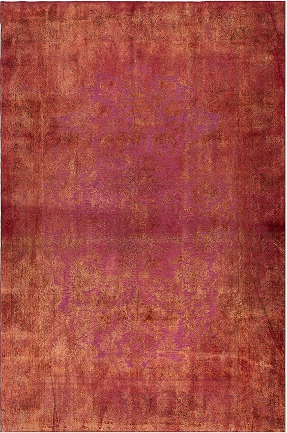 Pebbles Persian Overdyed Cut Out, Lilla Rugs