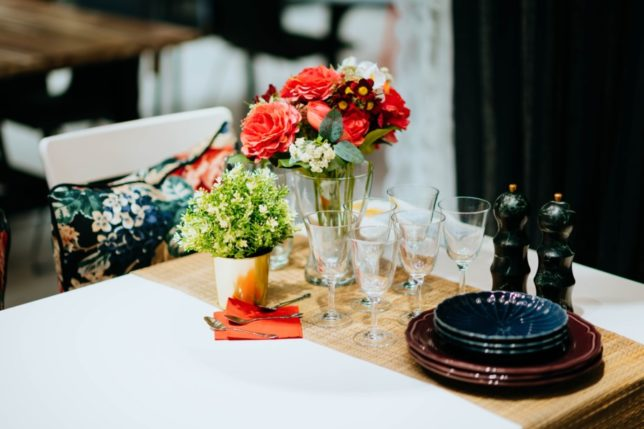 Temza interior design advice on how to dress the dinner party table
