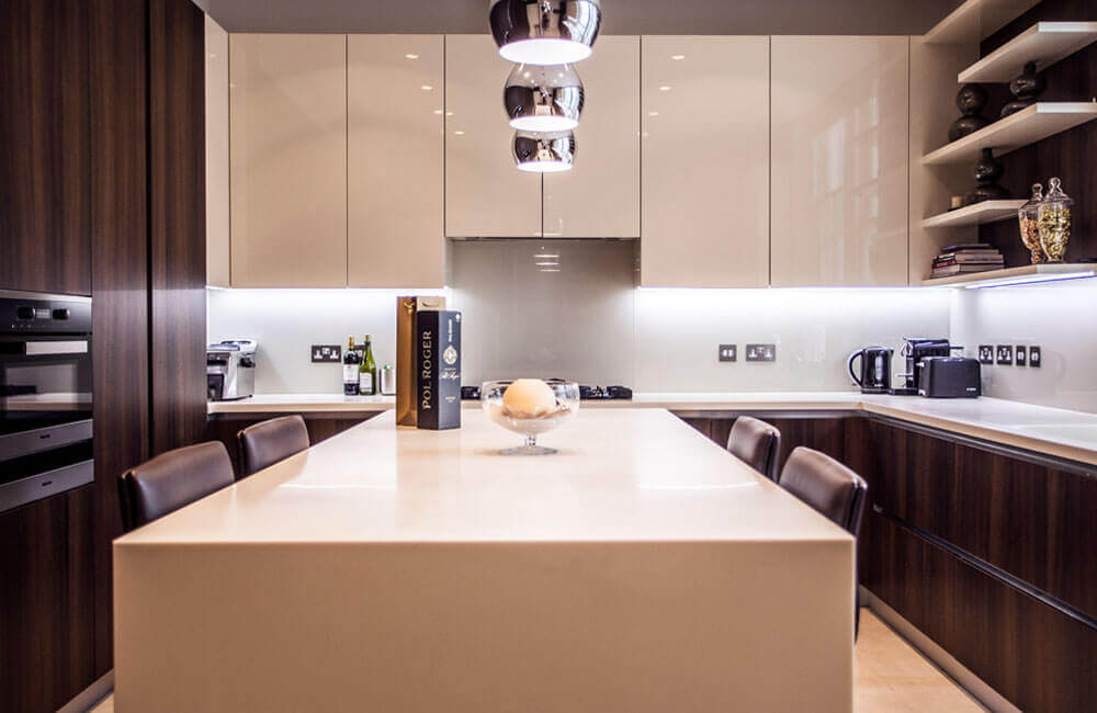 Interior Design and Construction company Temza advice on bespoke kitchen