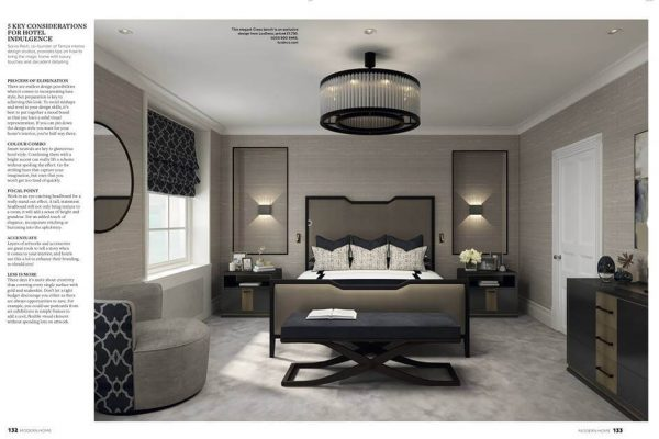 Temza tips on luxury touches and interior design detailing