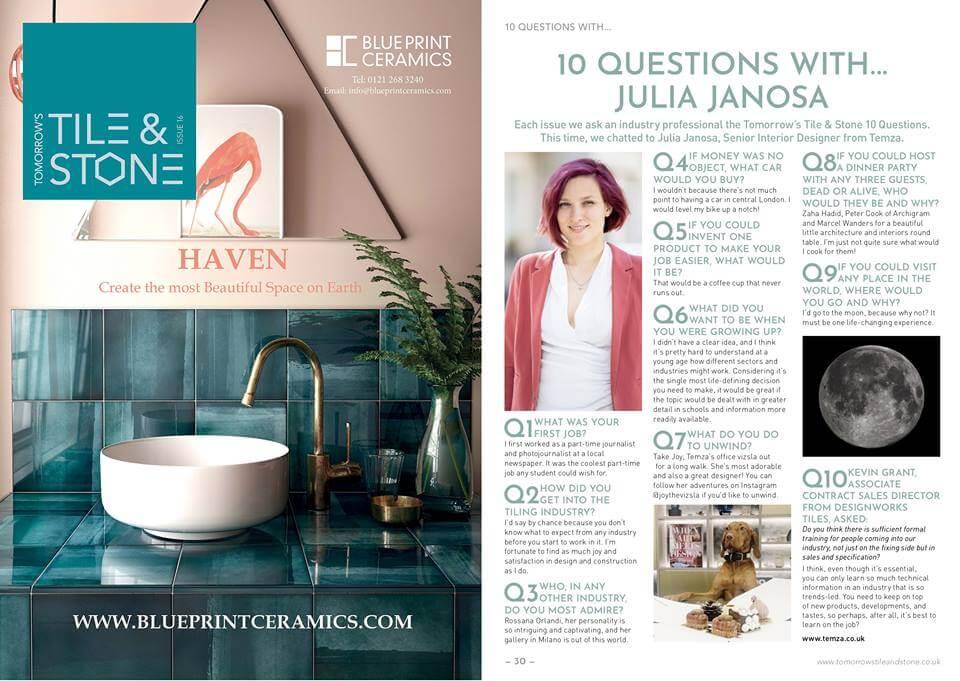 Interview with Temza's Senior Designer Julia Janosa