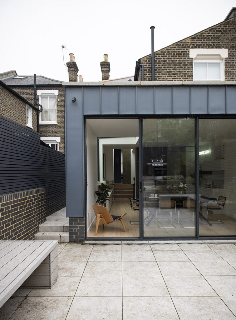 London house renovation with rear extension