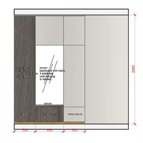 wardrobe designed by TEMZA