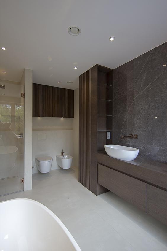 Luxury interior design for bathroom, Woodside avenue, London