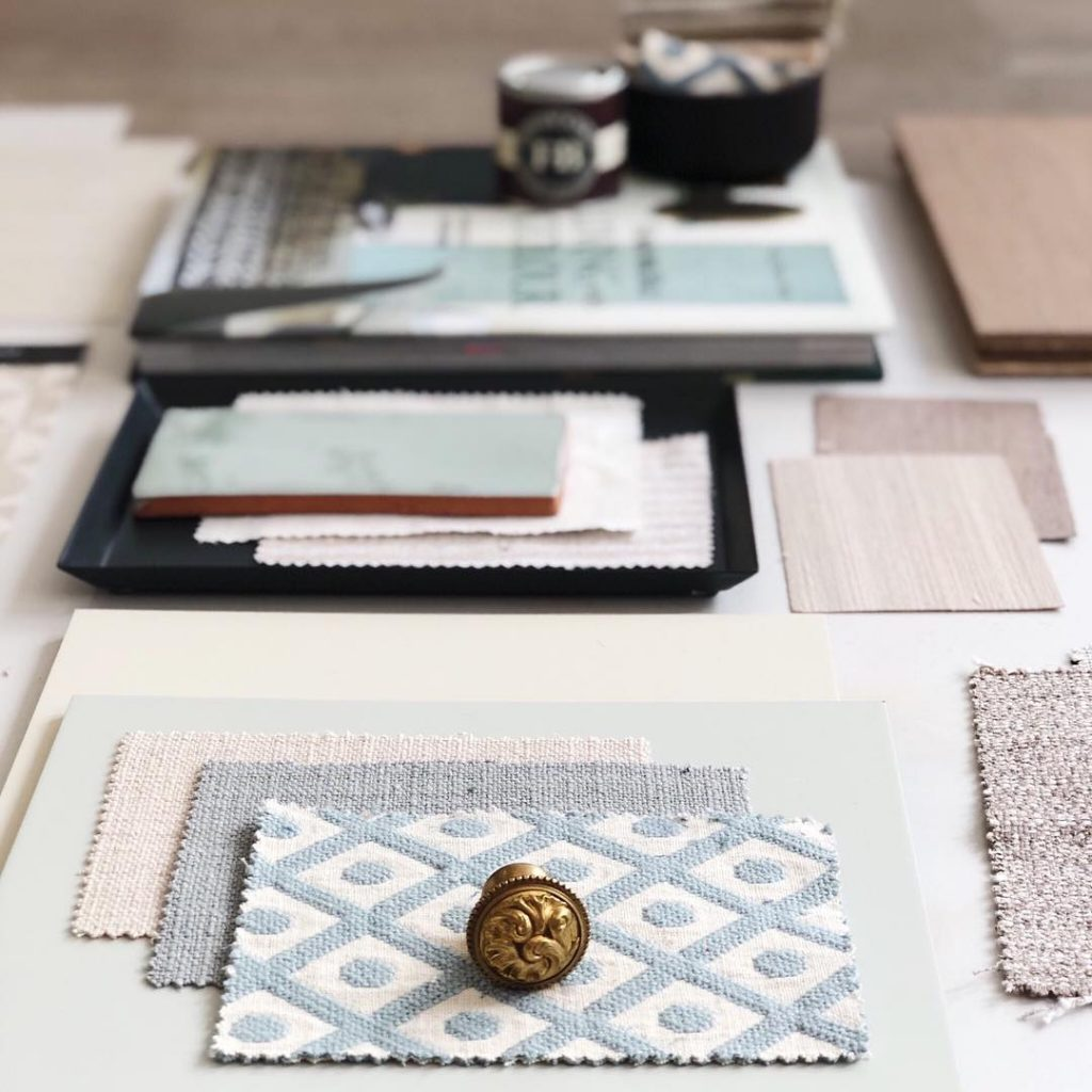 Interior design mood boards by TEMZA