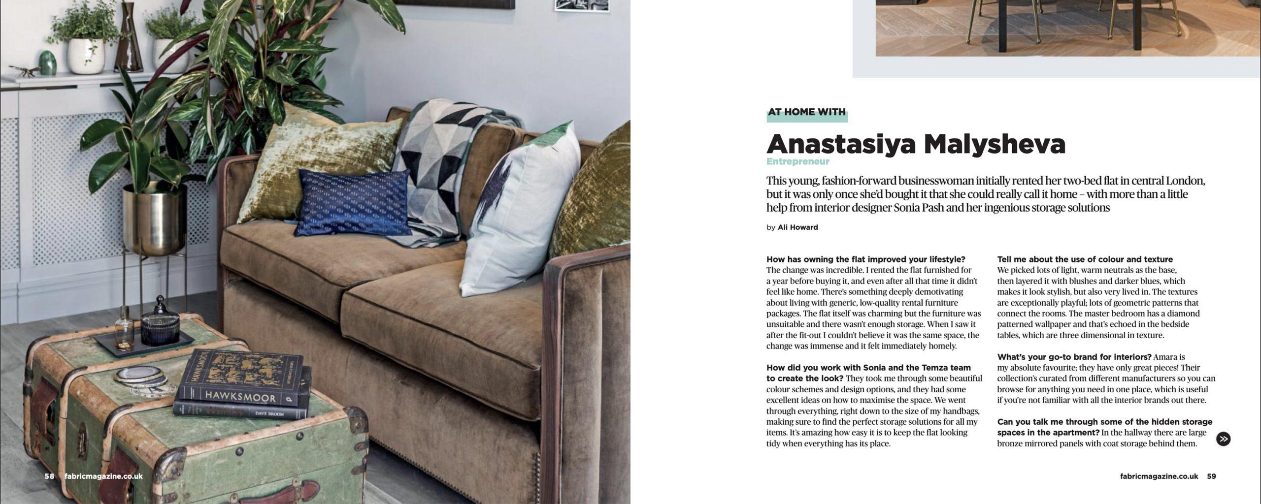 temza design and build studio for Fabric magazine1