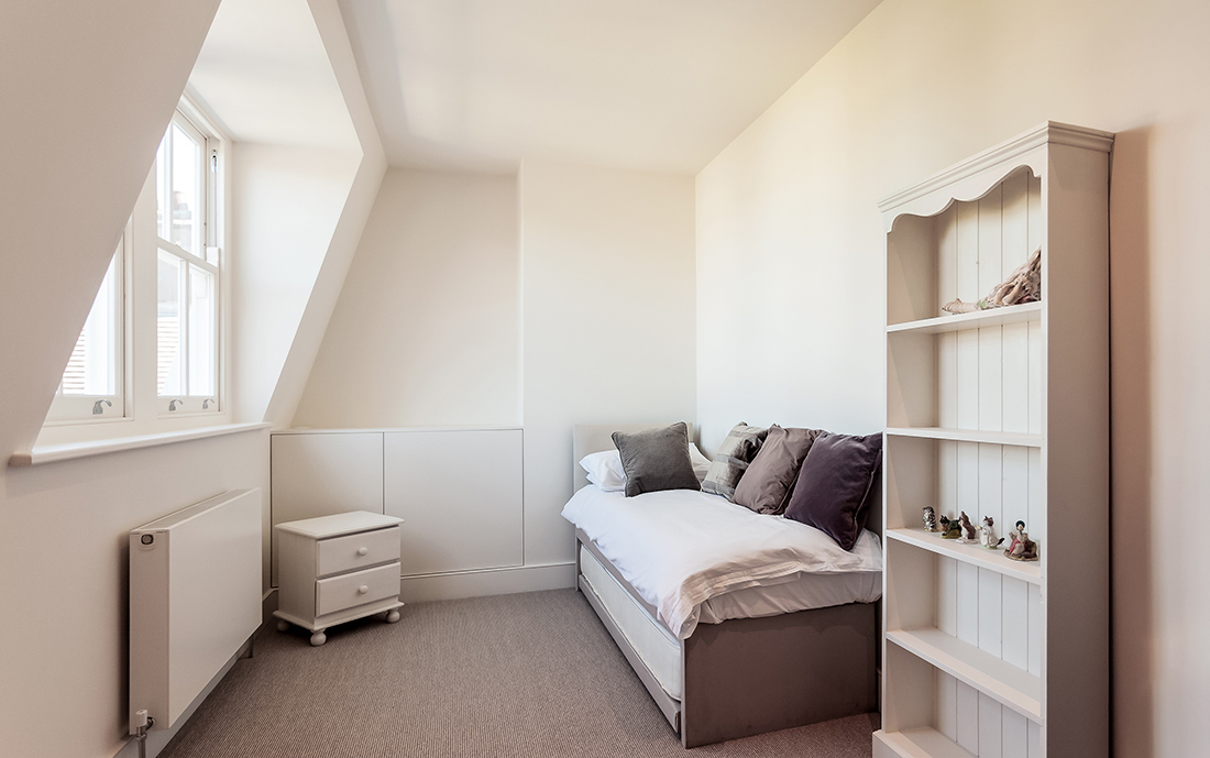 residential interior design with loft conversion, Wandsworth, London